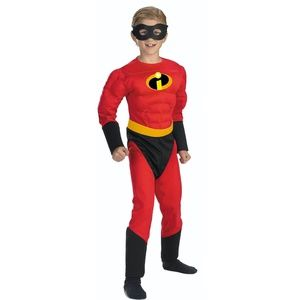 NEW The Incredibles Boys' Dash Muscle Costume